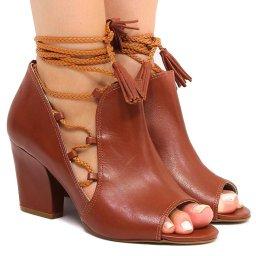 Sandalia Amarração Zariff Shoes 735348