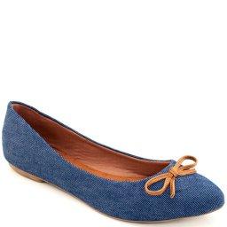 Sapatilha Bico Fino Envernizada Sapato Show 1901l