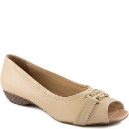 Sapatilha Bico Quadrado Numeração Especial Sapato Show 5076
