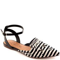 Sapatilha Bordada Numeração Especial Sapato Show 370472e