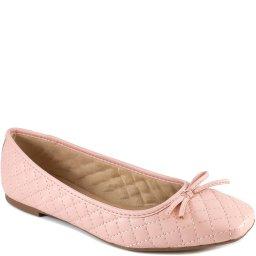 Sapatilha Com Laço Matelassê Bico Quadrado Sapato Show 14218