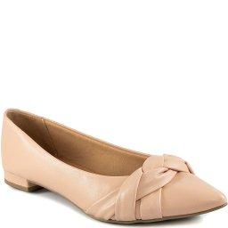 Sapatilha Com Trança Bico Fino Inverno Sapato Show 13152
