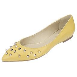 Imagem do produto - Sapatilha Feminina Belmon - 1409 Amarelo - 33 ao 43