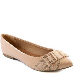 Sapatilha Feminina Com Laço Bico Fino 2020 Sapato Show 12805