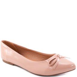 Sapatilha Feminina Com Laço Sapato Show 11565