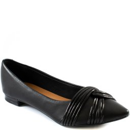 Imagem do produto - Sapatilha Feminina Tiras Cruzadas Inverno Sapato Show 12869