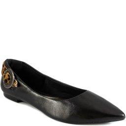 Sapatilha Fivela Animal Print Número Grande Sapato Show 3136