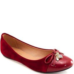 Sapatilha Laço Pingentes Sapato Show 11634