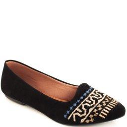 Sapatilha Nobuck Bordado Sapato Show 240107