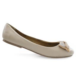 Sapatilha Número Grande Com Laço em Strass Sapatoshow 21005e