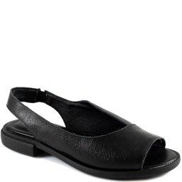 Sapatilha Peep Toe Slingback Retro Em Couro Sapato Show 0336