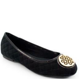 Sapatilha Veludo Sapato Show 10225