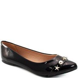 Sapatilha Feminina Envernizada Sapato Show 11568