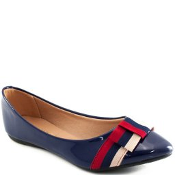 Sapatilha Verniz Náutico Sapato Show 11550