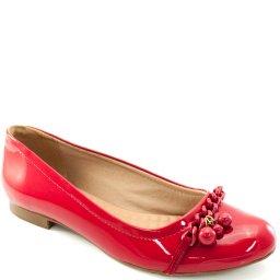 Sapatilha Verniz Numeração Grande Sapato Show 5577