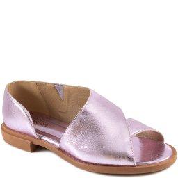 Sapato Aberto Retrô Em Couro Verão 2022 Sapato Show 0134