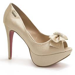 Sapato em Cetim Paraonda 5755