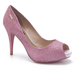 Sapato Gliter Rosa Paraonda 9623