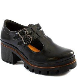 Sapato Mary Jane Feminino Tratorado Salto Bloco Dakota G2671