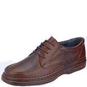 Sapato Social Em Couro Tremanito - 003 Pelica Pinhão