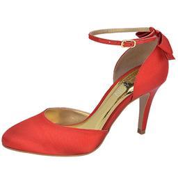 Scarpin Feminino Laço Belmon - 11007 - Vermelho - 33 a 43