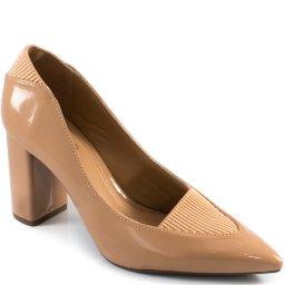Imagem do produto - Scarpin Feminino Com Elástico Bico Fino 2019 Sapato Show 1803812