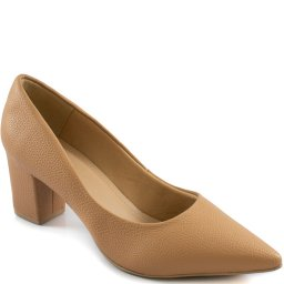 Imagem do produto - Scarpin Salto Bloco Bico Fino 2020 Sapato Show 406205572