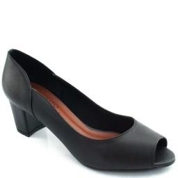 Peep Toe em Couro Sapato Show 23050