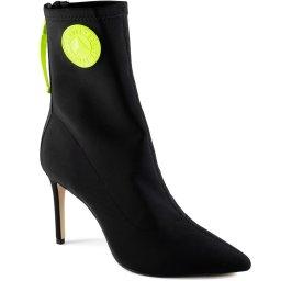 Sock Boot Lycra Bico Fino Stiletto Inverno Schutz S017230482