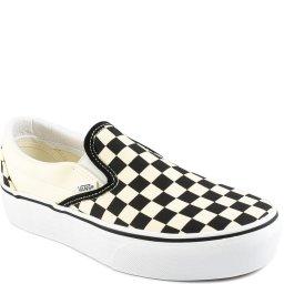 Tênis Classic Slip-On Feminino Checkeroard Vans VN00018EBWW
