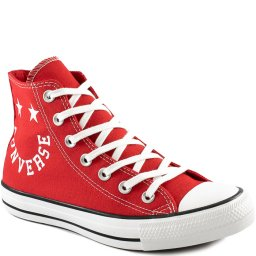Tênis Converse Chuck Taylor All Star Smile Cano Alto CT1318
