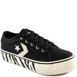 Tênis Converse Star Replay Platform Animal Print CO0281