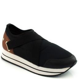 Imagem do produto - Tenis Sneaker Elástico Cravo e Canela 150701