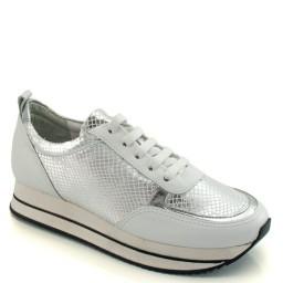 Tenis Sneaker Metalizado Cravo e Canela 150703