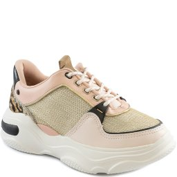 Tênis Dad Sneaker Animal Print Flatform 2020 Tanara T4181