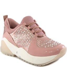 Tênis Dad Sneaker Flatform Com Strass Inverno Tanara T4301