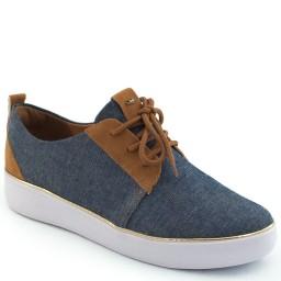 Tenis Jeans Com Camurça Dakota B8471