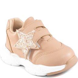 Tênis De Velcro Infantil Com Estrela Mini Sua Cia Baby 00135