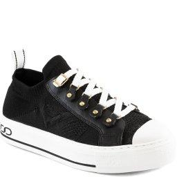 Tênis Feminino Confortável Malha Knit Sapato Show 39705