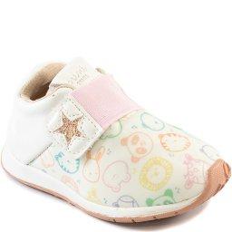 Tênis Infantil Estampado Com Velcro 2020 Sua Cia Mini 00054