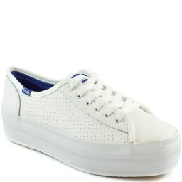 Tênis Keds Plataform Kick Perf Leather