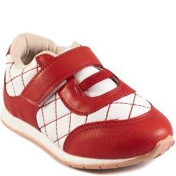 Tênis Para Bebês Matelassê Com Velcro Mini Sua Cia 00103
