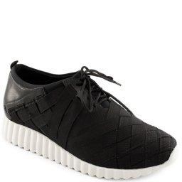 Tênis Feminino Trançado Confortável Sapato Show 16253