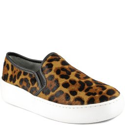 Tênis Slip On Animal Print Flatform 2021 Sapato Show 35704