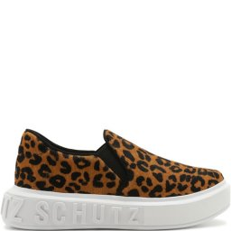 Tênis Slip On Feminino It Animal Print 2020 Schutz S209200005