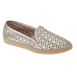 Tênis Slip-On Italeoni - 1820 Ouro Light