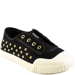 Tênis Slip On Smash Canvas Studs Verão 2021 Schutz S211360002