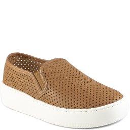 Tênis Slip On Vazado Flatform Feminino Sapato Show 35706