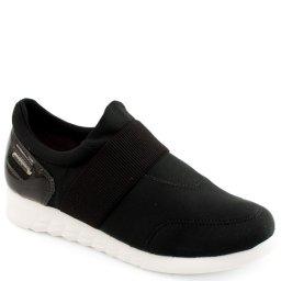 Tenis Sneaker Elástico Cravo e Canela 155701