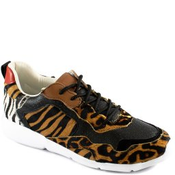 Tênis Sneaker Texturizado Animal Print 2020 Bottero 307704